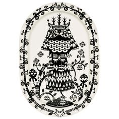 Taika serving plate by Iittala.