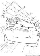 Desenhos do Carros para colorir