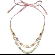 Hermoso collar swaroski new collection