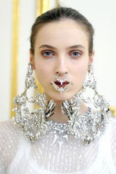 Givenchy says: Bull Nose Rings are back in.... OH Jzhiv-On-Shee!