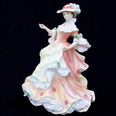 Flowers of Love ROSE Royal Doulton Figurine HN3709 Lady Doll Figure Retired #Figurine