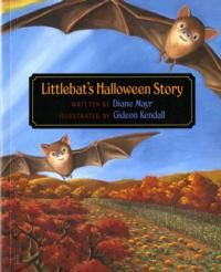 """Littlebat, who lives in the attic of the public library, loves to poke his head through a hole in the floor and listen to the librarian read stories to the children. One day he gets so excited by a picture in a book that he loses his grip and plummets into the room below. The children scream and the librarian shoos him away. Littlebat's mother says he must wait for """"changes"""" before going so close to a book again. So Littlebat waits. The seasons slowly change, from spring to summer to fall."""