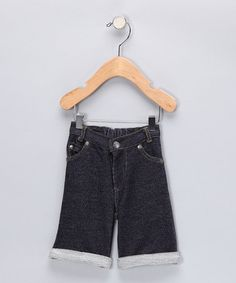 Take a look at this Denim Cuffed Pants - Infant by SCKC Boys on #zulily today!