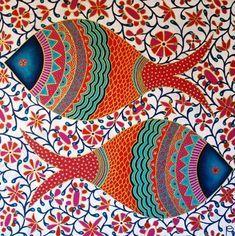 Fish motifs