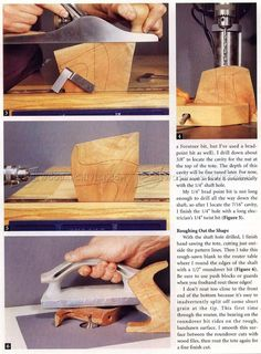 Replacing a Hand Plane Tote - Woodworking Hand Tools