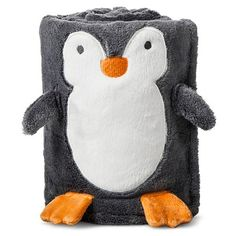Safe & easy for newborn baby & all ages. Cute Kids, Cute Babies, Baby Kids, Crotchet Animals, Penguin Nursery, Baby Penguins, Penguin Baby, Gender Neutral Baby, My Children