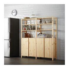 IVAR 2 secțiuni/polițe/corp  - IKEA