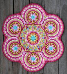 Mandala  - Decke häkeln