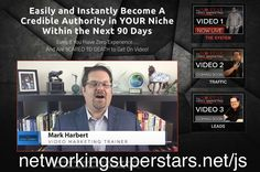 Video 1 went live and in it Mark shares his 3 stage system for generating leads.  This system is good for network marketing but also other niches like personal training baby niche shopping reviews.  Go to http://ift.tt/20SpWer to view