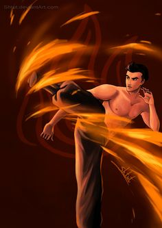 Mako, the fire bender. Kind of have an anime crush on this one!