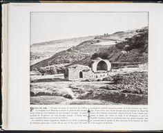 """Puits de Job - F. Bonfils. """"""""Presque au point de jonction des vallées de Josaphat et de Hinnom se trouve le puits de Job. Le bâtiment voisin de cette fontaine est une mosquée en ruine: les puits, profond de 38 mètres, ne tarit presque jamais: il donne naissance pendant l'hiver au torrent du Cédron. Les chrétiens francs l'appellent, depuis le XVIe siècle, la fontaine de Néhémie"""