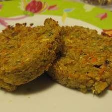 Recette Galettes végétales de légumes aux flocons de quinoa, à indice glycémique bas par Autesserre Dome - recette de la catégorie Plats végétariens