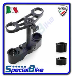 a ducati 1098 r 2007 2008 set piastre sterzo cnc racing ergal offset variabile