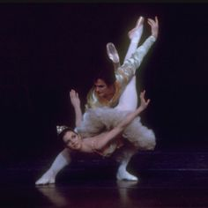 """Gelsey Kirkland and Helgi Tomasson, in a New York City Ballet production of """"The Nutcracker."""" (New York)"""