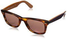 Ray-ban Unisex - Adults Mod. 2140 Sunglasses, striped havana (striped havana), size 50