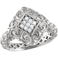 Diamond Sculptural Ring, click to be directed for purchase!