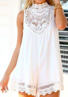 Sleeveless Loose Cotton Mini Dress