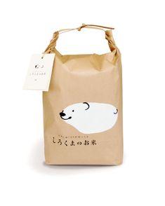 푸근한 느낌의 쌀 패키지 #패키지디자인