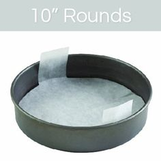 The Smart Baker® 10 inch Round Perfect Parchment® - Pre-cut Parchment for Cake Pans 'As Seen on Shark Tank' ** Continue to the product at the image link.