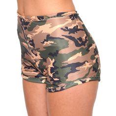 Army fatigue high waist bikini | Fashionably late! | Pinterest ...