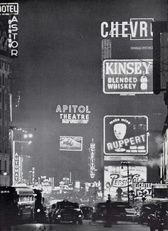 Time Square, NYC, 1950