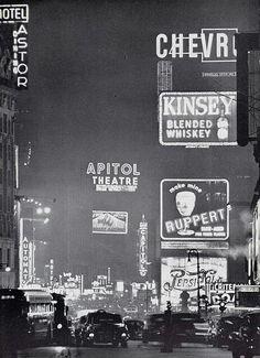 Time Square 1950