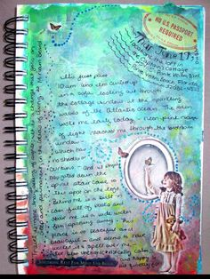 Art Journal: Inspired by Waves and Sunshine