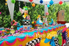 Wonderland prop rental and event decorating services by WONDERLAND PARTY PROPS ( 661 ) 250-8164 http://www.facebook.com/pages/Wonderland-Party-Props/159537750764498