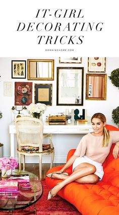 It-girl decorating tips, from Lauren Conrad and more!