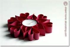 valentine's decorations made of paper - - Yahoo Image Search Results