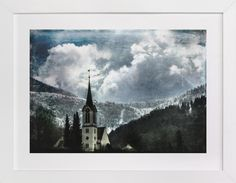 Church Tower by Heather Squance at minted.com