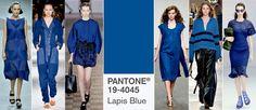 Kolory na wiosnę 2017: PANTONE 19-4045 Lapis Blue