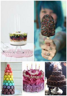5 Alternative Birthday Cakes You'll Love, #Cakes, #Love