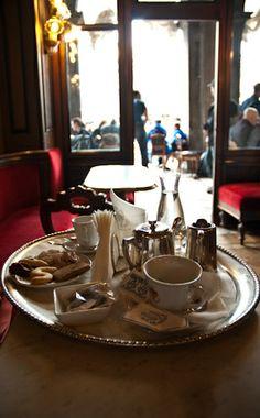 light breakfast- Caffe Florian