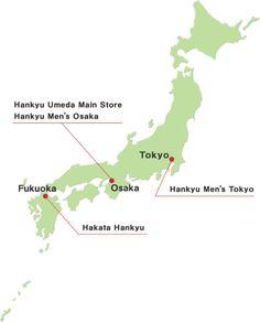 Hankyu Department Store Information for Overseas Visitors