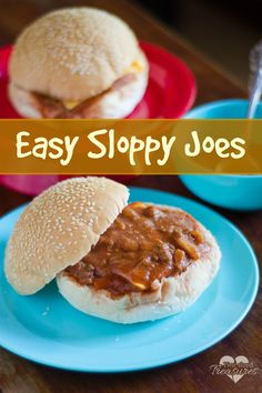 Yes! A kid-favorite that you can make at home. Trust me the homemade version tastes so much better than the canned stuff! Enjoy freshly sauted peppers and onions with lots of rich, tomato sauce! A quick and easy meal for busy moms! #quickandeasy #easyrecipes #sloppyjoes #yummy