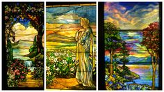 Tiffany windows, Smith Museum of Stained Glass Windows, Navy Pier, Chicago