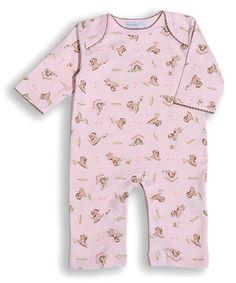 Pink Puppies Pima Cotton Playsuit - Infant