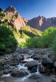 PN de la Caldera de Taburiente, Isla de La Palma, Canarias. Spain