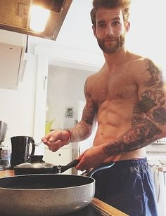He can cook me breakfast anytime ;)