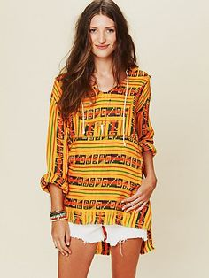 Patterned Poncho http://www.freepeople.com/whats-new/patterned-poncho/