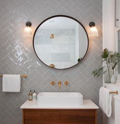 Bathroom Lighting, rated, supplied and beautifully created by Fritz Fryer Lighting Bathroom Renos, Small Bathroom, Glass Bathroom, Bathroom Vanities, Bathroom Tile Patterns, Tiled Walls In Bathroom, Neptune Bathroom, Zebra Bathroom, Bathroom Vintage