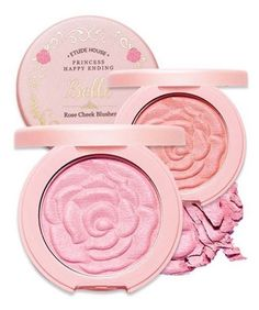 14 Must Have Korean Beauty Products - Etude House Rose Cheek Blusher - This blusher has elegant and beautiful colors like rose, soft texture and elegant shimmer like pearls.