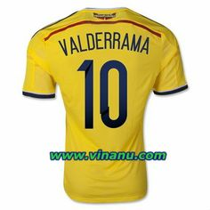 No.10 - Valderrama, Colombia 2014 World Cup