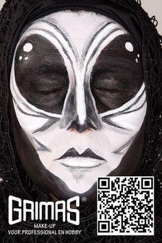 Alien - www.maquillador.eu, ejemplos de maquillaje