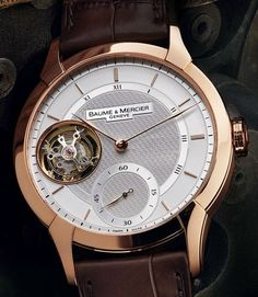 Baume and Mercier Add New Models To Its William Baume Editions: The Retrograde, Ultraflat, And Tourbillon Watches