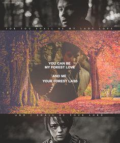 Arya & Gendry - arya-stark Fan Art