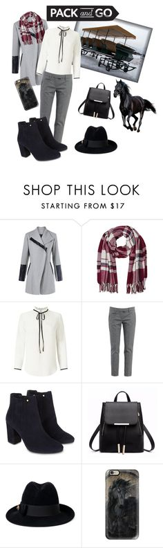"""""""Winter Carriage Ride"""" by write-kelly-ann ❤ liked on Polyvore featuring M&Co, Miss Selfridge, Dondup, Monsoon, Gucci and Casetify"""