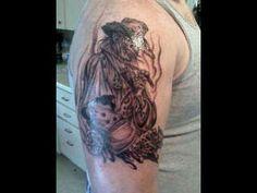 cowboy skull tattoos | Dead Cowboy tattoo