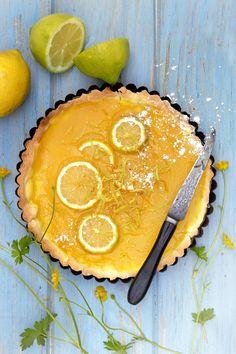 Découvrir la recette de la Tarte au citron Thermomix